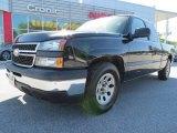 2007 Black Chevrolet Silverado 1500 Classic LS Extended Cab #80117529