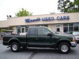 2000 Woodland Green Metallic Ford F250 Super Duty XLT Extended Cab #80174468