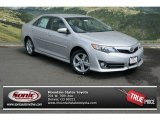 2013 Classic Silver Metallic Toyota Camry SE #80174101
