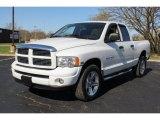 2004 Bright White Dodge Ram 1500 ST Quad Cab 4x4 #80174580