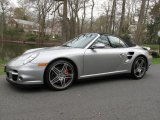 2008 GT Silver Metallic Porsche 911 Turbo Cabriolet #80174217