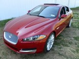 2013 Carnelian Red Metallic Jaguar XF 3.0 AWD #80174088