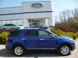 2013 Deep Impact Blue Metallic Ford Explorer XLT 4WD #80174211