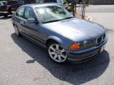 1999 Steel Blue Metallic BMW 3 Series 328i Sedan #80174452