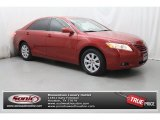 2008 Barcelona Red Metallic Toyota Camry XLE V6 #80174446