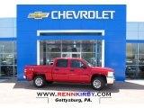 2013 Victory Red Chevrolet Silverado 1500 LS Crew Cab 4x4 #80174567