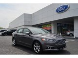 2013 Sterling Gray Metallic Ford Fusion SE 1.6 EcoBoost #80174319