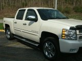 2012 Summit White Chevrolet Silverado 1500 LTZ Crew Cab 4x4 #80174180
