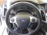 2012 Ford Focus Titanium 5-Door Steering Wheel