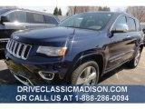2014 True Blue Pearl Jeep Grand Cherokee Overland 4x4 #80174633