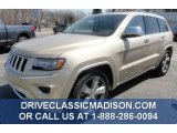 2014 Cashmere Pearl Jeep Grand Cherokee Overland 4x4 #80174632
