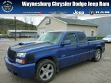 2003 Arrival Blue Metallic Chevrolet Silverado 1500 SS Extended Cab AWD #80174387