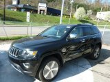 2014 Black Forest Green Pearl Jeep Grand Cherokee Limited 4x4 #80174517