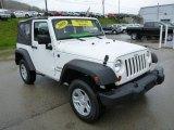 2010 Jeep Wrangler Stone White