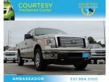2011 Pale Adobe Metallic Ford F150 XLT SuperCab 4x4 #80174612