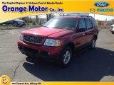 2003 Redfire Metallic Ford Explorer XLT 4x4 #80174357