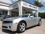 2012 Silver Ice Metallic Chevrolet Camaro LT Coupe #80224986