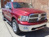 2012 Deep Cherry Red Crystal Pearl Dodge Ram 1500 Laramie Crew Cab 4x4 #80225883