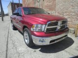 2011 Deep Cherry Red Crystal Pearl Dodge Ram 1500 Big Horn Crew Cab 4x4 #80225881