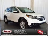 2013 White Diamond Pearl Honda CR-V EX-L #80224967