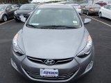 2013 Shimmering Air Silver Hyundai Elantra Limited #80225100