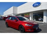 2013 Ruby Red Metallic Ford Fusion SE 1.6 EcoBoost #80225266