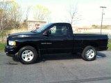 2003 Black Dodge Ram 1500 SLT Regular Cab 4x4 #80225425