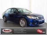 2013 Obsidian Blue Pearl Honda Accord LX Sedan #80224959