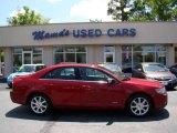2008 Vivid Red Metallic Lincoln MKZ Sedan #80225419
