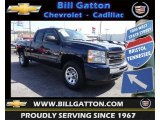 2011 Imperial Blue Metallic Chevrolet Silverado 1500 LS Extended Cab 4x4 #80225731