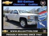 2013 White Diamond Tricoat Chevrolet Silverado 1500 LT Crew Cab 4x4 #80225729