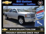 2013 Silver Ice Metallic Chevrolet Silverado 1500 LT Crew Cab 4x4 #80225728