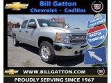 2013 Silver Ice Metallic Chevrolet Silverado 1500 LT Crew Cab 4x4 #80225727