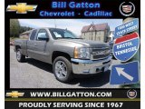 2013 Graystone Metallic Chevrolet Silverado 1500 LT Extended Cab 4x4 #80225724