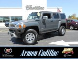 2009 Graphite Metallic Hummer H3  #80224945
