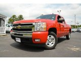 2010 Victory Red Chevrolet Silverado 1500 LT Extended Cab #80225551