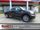 2013 Black Toyota Tundra TRD Rock Warrior Double Cab 4x4 #80225541