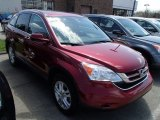 2010 Tango Red Pearl Honda CR-V EX-L AWD #80225802