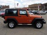 2011 Mango Tango Pearl Jeep Wrangler Sport 4x4 #80225238