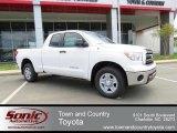 2013 Super White Toyota Tundra SR5 Double Cab #80225539