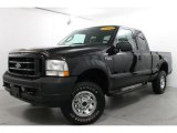 2004 Black Ford F250 Super Duty XLT SuperCab 4x4 #80224887