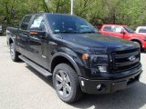 Tuxedo Black Metallic Ford F150 in 2013