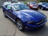 2014 Ford Mustang Deep Impact Blue