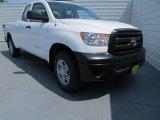 2013 Super White Toyota Tundra Double Cab #80225342