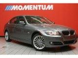 2011 Space Gray Metallic BMW 3 Series 335i Sedan #80225505
