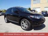 2010 Super Black Nissan Murano LE AWD #80225333