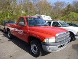 2001 Flame Red Dodge Ram 1500 Regular Cab #80225313