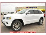 2014 Bright White Jeep Grand Cherokee Limited #80290530