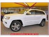 2014 Bright White Jeep Grand Cherokee Overland #80290529