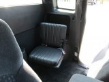 1998 Chevrolet S10 LS Extended Cab Gray Interior